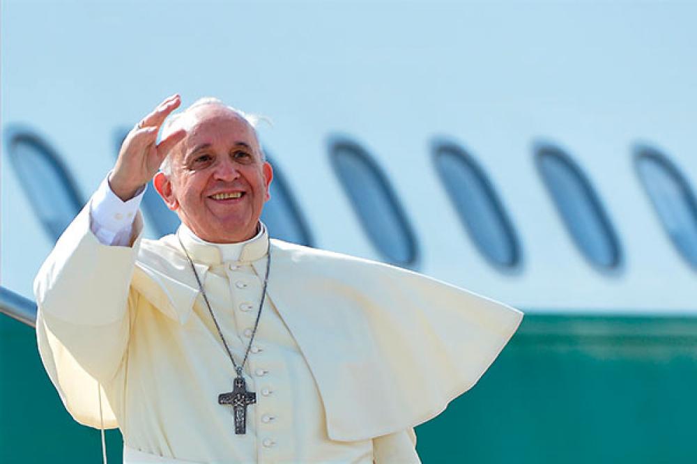 Confirman que el Papa sobrevolará Argentina y enviará un telegrama