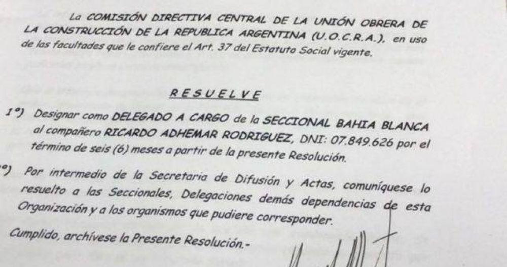 Gerardo Martinez salió a despegarse de las detenciones en la Uocra Bahía Blanca