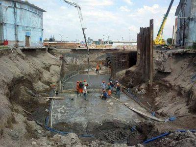 Avanza la ejecución del Pluvial Arroyo del Barco y se trabaja en la desembocadura