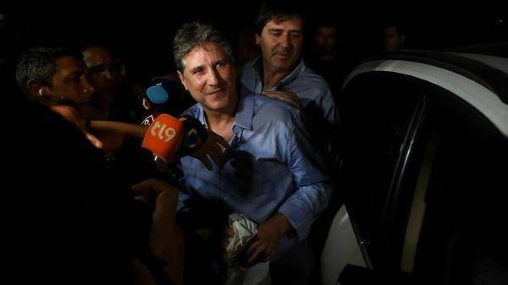 Amado Boudou ya está libre tras un fallo de la Cámara Federal