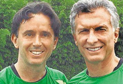 Ex futbolista del Ascenso y amigo de Macri a cargo de una caja millonaria