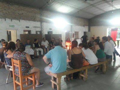 Vecinos preocupados por el basural municipal se reunieron en el barrio San Pedro