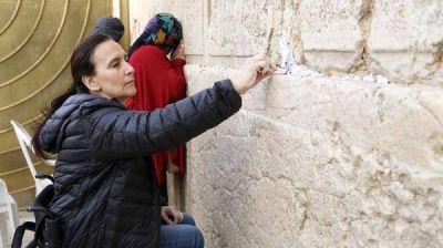 Gabriela Michetti, desde Israel: