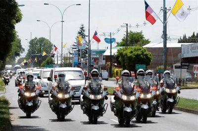 La visita de Francisco no termina de entusiasmar a los chilenos