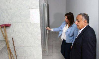 La Intendente Fuentes supervisó las obras del Centro Operativo N° 4