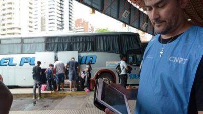 Nación y Provincia controlaron colectivos en la Terminal de Córdoba