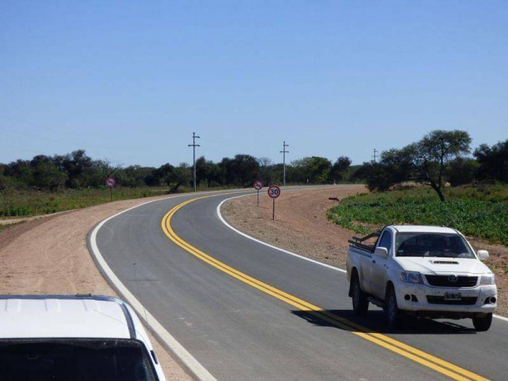 El Gobierno de Formosa afirma que entre 2003 y 2015 se pavimentaron casi 1300 kilómetros de rutas nacionales