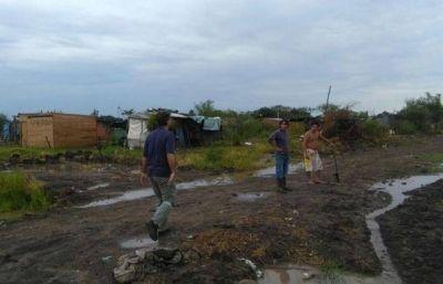 Continúan los operativos de asistencia en las zonas afectadas