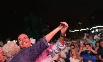 Con la presencia del gobernador Gustavo Valdés se desarrolló la tercera jornada del mega-Festival