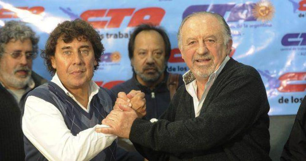 Sin apoyo de la CTA Perón, Micheli explora alternativas para reunificar las CTA