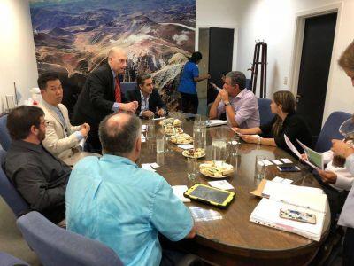 Avanzan conversaciones para realizar convenios por la explotación de litio