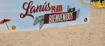 "Grindetti inauguró ""Lanús Playa"" en el Velódromo"
