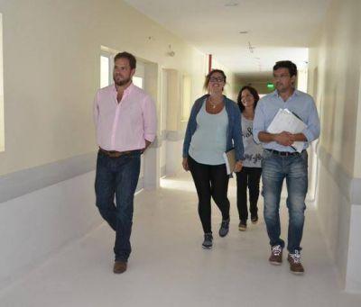 Etapa final en la construcción del nuevo hospital de Merlo