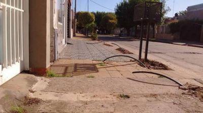 Avanza recambio de cañerías de agua y por ahora no habrá consumo medido en San Nicolás