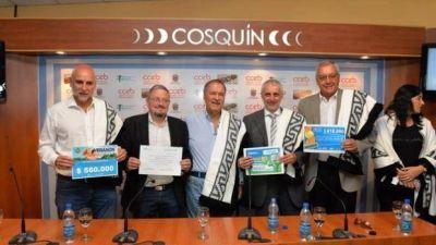 Schiaretti anunció que la autovía de montaña se extenderá hasta Cosquín
