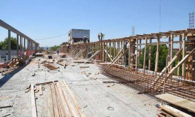 Avanza la construcción de las salas de obstetricia y pediatría en el Thompson