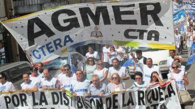 Agmer también reclama el pago de la cláusula gatillo