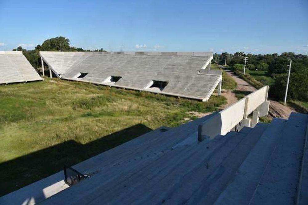 Invertirán otros 45 millones de pesos en la construcción del Estadio Unico