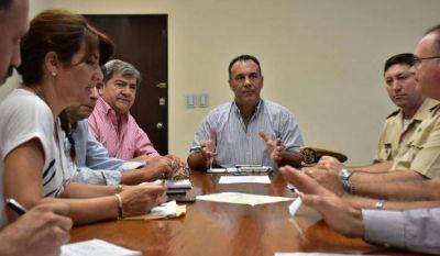 Ante el alerta por crecida de ríos Paraguay y Paraná, el Gobierno coordina trabajos de prevención en zonas costeras