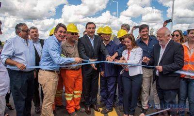 Habilitaron el nuevo puente San Juan que reemplaza al de 1927 y que se averió en el 2013