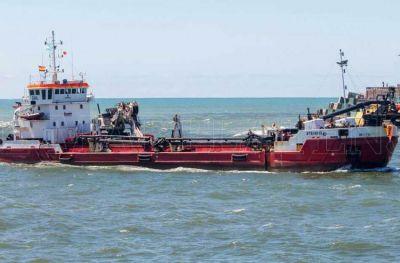 La etapa final de la obra de dragado del Puerto comenzará en agosto