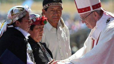 Contundente advertencia del papa Francisco a los mapuches: