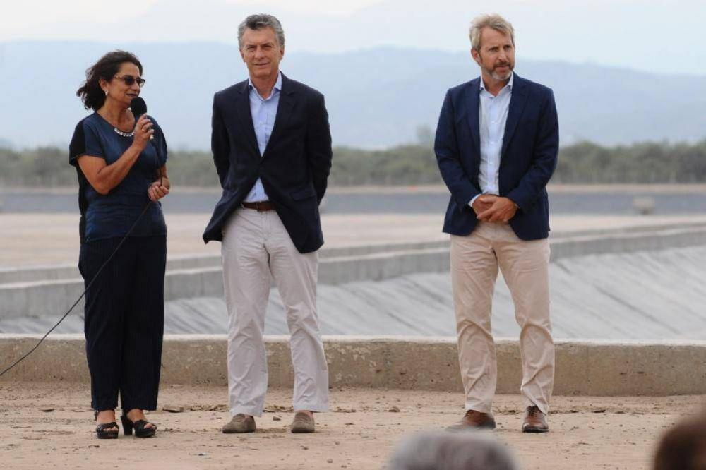 Intercambio de elogios entre Mauricio Macri y Lucía Corpacci