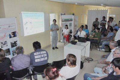 Jornadas de prevención y tratamiento de enfermedades transmitidas por vectores en Lavalle