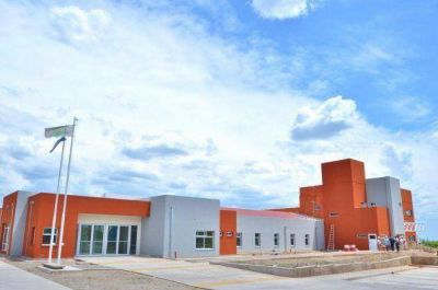El avance de la obra del nuevo hospital de Merlo es del 90%