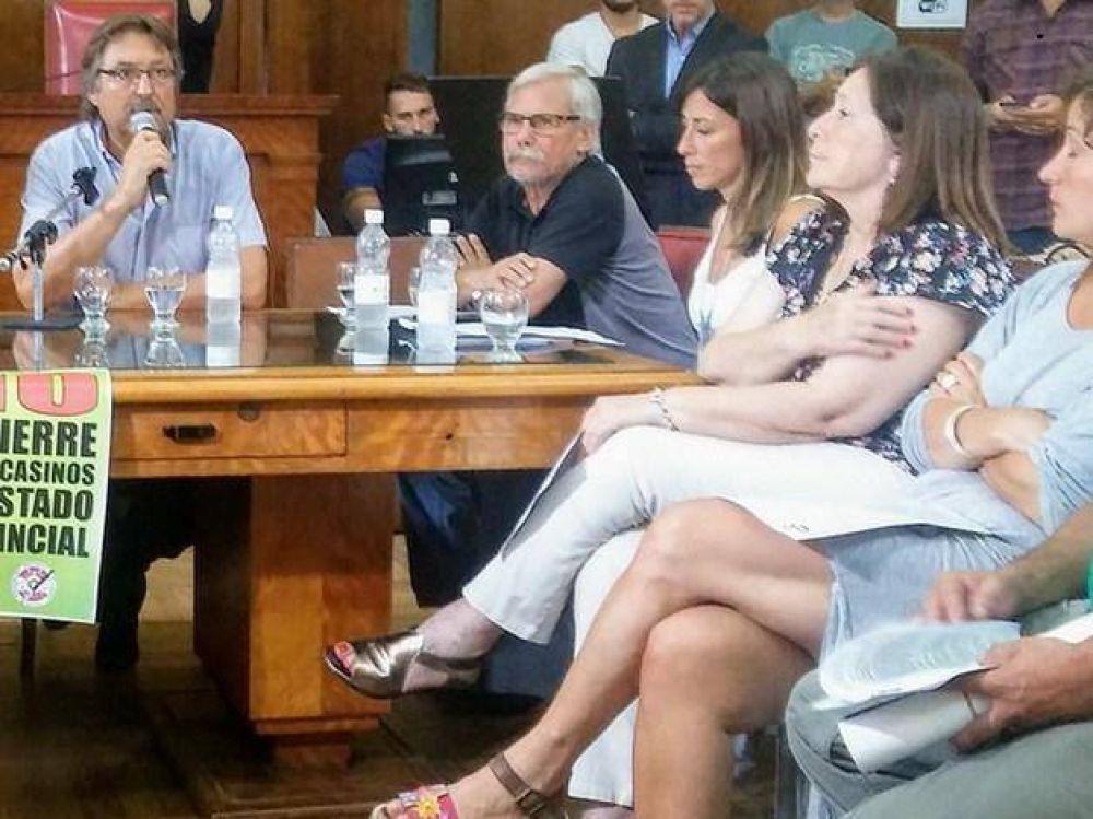 Casineros paran este jueves en todas las salas de juego de la provincia de Buenos Aires