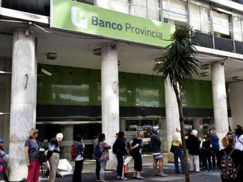 """Los trabajadores bancarios comienzan con los paros en el """"Provincia"""""""
