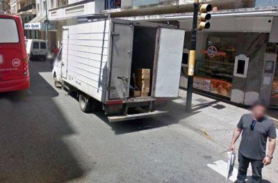 Pretenden regular el transporte de carga y descarga en el centro