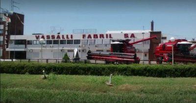 La fábrica de cosechadoras Vassalli confirmó 52 retiros voluntarios