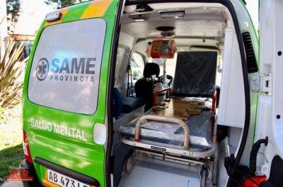 Quilmes sumó una nueva ambulancia de salud mental para el SAME