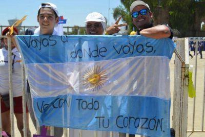 Si el Papa no viene a la Argentina, los argentinos vamos a Chile