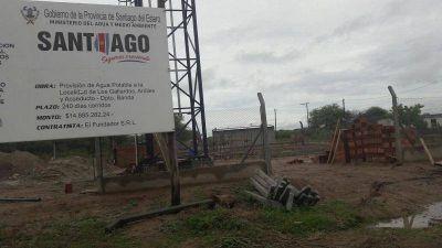 Satisfacción en Ardiles por la pronta finalización de la red de agua potable