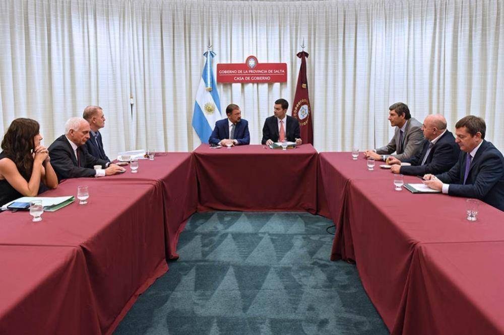 Urtubey encabezó una nueva reunión de Gabinete