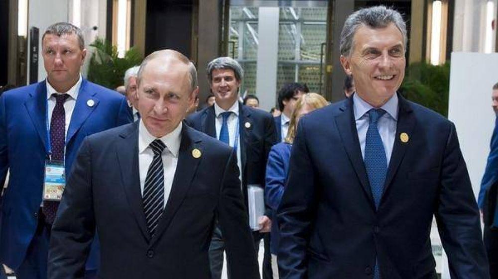 Macri con Putin en Rusia: el viaje gestado bajo el manto de la ex KGB y una promesa inquietante