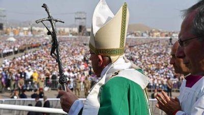Ante más de un millón de personas, el papa Francisco cerró su gira sudamericana con una misa en Lima