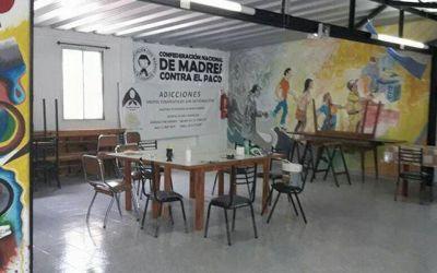 Madres contra el Paco inauguró un hospital de día en Avellaneda