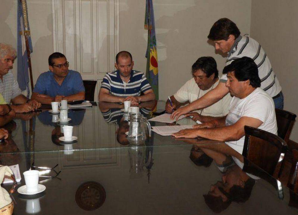 La Municipalidad de General Villegas acordó la paritaria con los gremios
