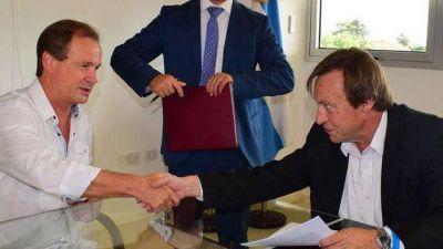 Bordet firmó el crédito para Varisco