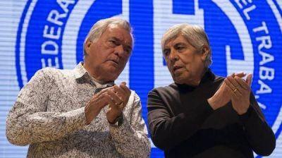 Gremios de Moyano, Barrionuevo y Acuña están en la mira de la Justicia por una denuncia de AFIP
