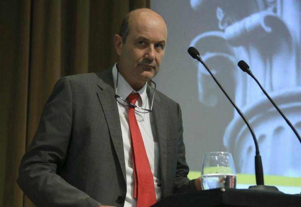 Federico Sturzenegger insistió con paritarias del 15%