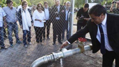 Dos pozos de agua para mejorar el suministro