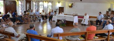Renovación de votos en los Hermanos de la Sagrada Familia