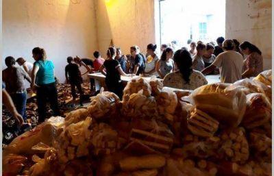 Más de 200 evacuados en Sáenz Peña