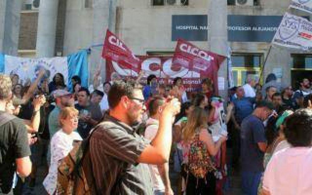 La Cicop anunció un paro en el hospital Posadas