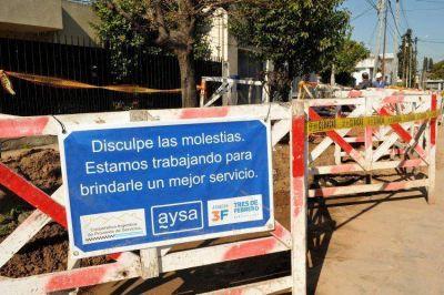 Av. Del Libertador y Salguero, interrumpida por reparación de cañería