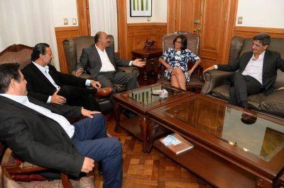 Corpacci se reunió con Manzur por la obra Potrero del Clavillo
